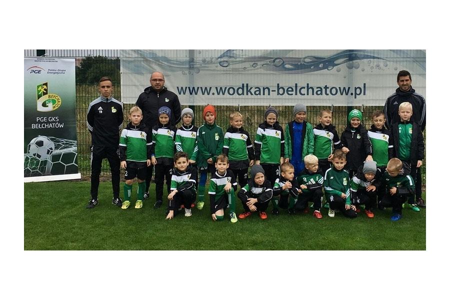 GKS Bełchatów dla wszystkich - Rocznik 2010 po pierwszym turnieju